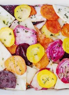 Gail's Artisan Bakery Cookbook root veg - Ebury Press 2014 - Photography by Haarala Hamilton